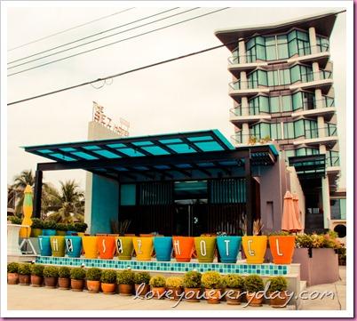 The Sez Hotel ที่พัก@ทะเลบางแสน
