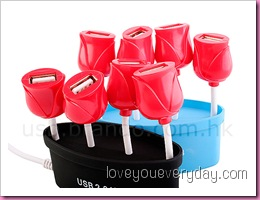 USB Flowers HUB